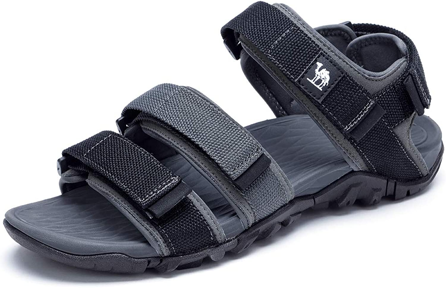 CAMEL Mens Beach Sandals Breathable Mesh Sports shoes Casual Outdoor Slippers with Adjust Strap
