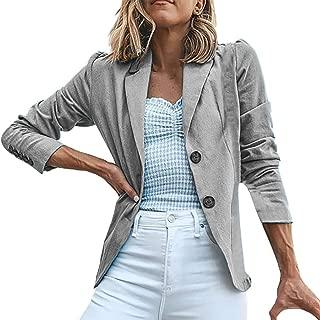 Surfiiy - Chaqueta para Mujer Blazer Elegante para Oficina Formal