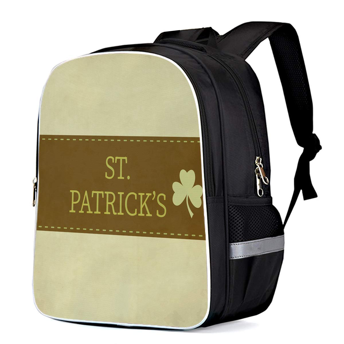 Patricks Day Pattern Canvas Coin Purse Cute Change Pouch Wallet Bag Multifunctional Cellphone Bag with Handle St