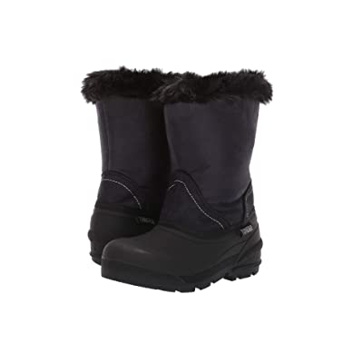 Tundra Boots Kids Okemo (Little Kid/Big Kid) (Black) Girls Shoes