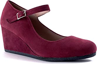 Guilty Shoes Guilty Heart | Womens Classic Mary Jane Shoe | Comfortable Walking Round Toe