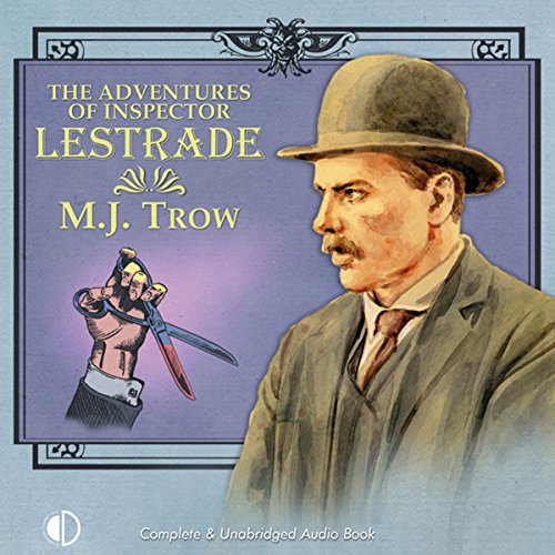 The Adventures of Inspector Lestrade audiobook cover art