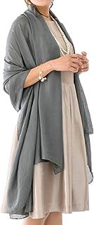 [アウニイ] 大判 パーティー ストール ショール マフラー 結婚式 レディース 3タイプ 冷房対策
