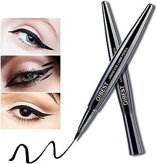 CWeep Waterproof Eyeliner Pen, Super Slim Liquid Eyeliner Eye Liner Gel All Day Make Up Long-Lasting Liquid Eyeliner Pen -Black Long