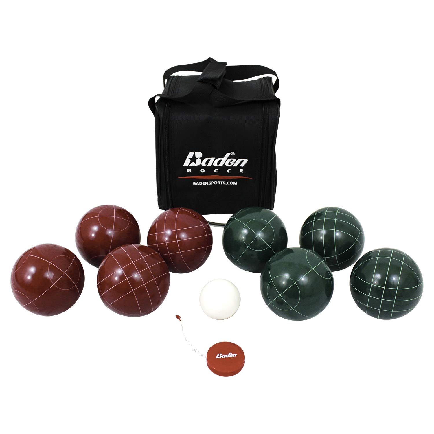 Pack of 4-107mm Bocce Balls Blue with 2 Different Scoring Patterns