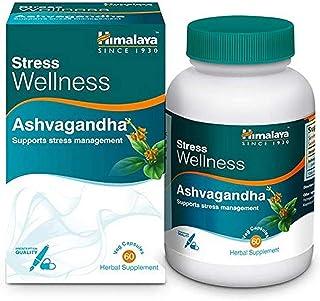 Himalaya Ashvagandha, Relieves Stress and Boosts Energy, Ashwagandha Veg. Caps