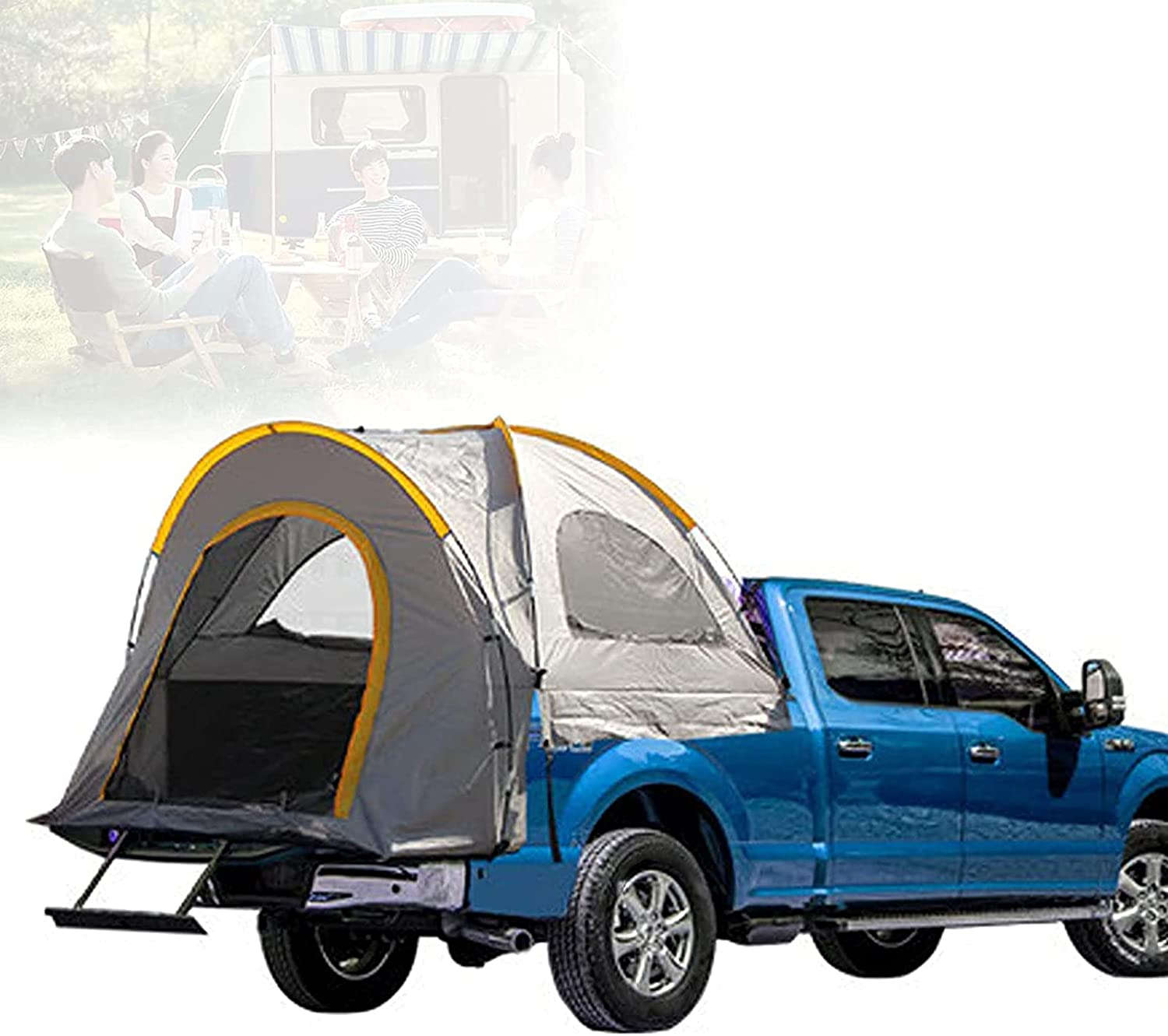 SUYUDD Seattle Mall Pickup Camper Tent Truck OFFicial shop Oxford Fa Camping 210D with