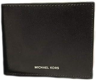 محفظة جلدية مزدوجة الطبقات نحيفة للرجال من Michael Kors