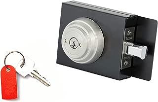 Gate Lock Boxes : Deadbolt Gate Lock : Weldable Steel Lock Box