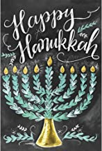 (24x34cm)Full Square Diamond Painting Cross Stitch Happy Hanukkah Candle Blackboard Diamond Embroidery DIY 3D Diamond Mosaic