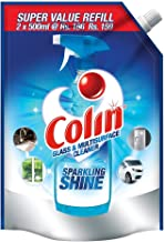 Colin Glass and Surface Cleaner with Shine Boosters Refill, Regular - 1L