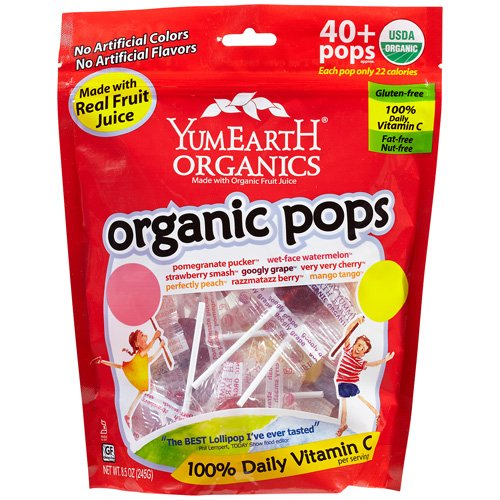 Yummyearth Lolli Pop Family Size Pack Of 2