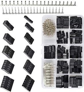 1-10, 12, 20 Pin DuPont una sola fila conector 2.54mm vivienda Hembra Crimps