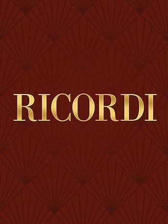 Ricordi Oh. Quante volte (da i Capuleti e i Montecchi) (Voice and piano) vocal solo Series by Vincenzo Bellini