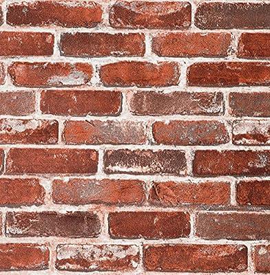 Brick Self Adhesive Peel and Stick Wallpaper