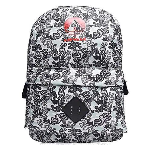 Airwalk Mens Zip Fastening Padded Print Backpack Rucksacks (One Size, Camo)