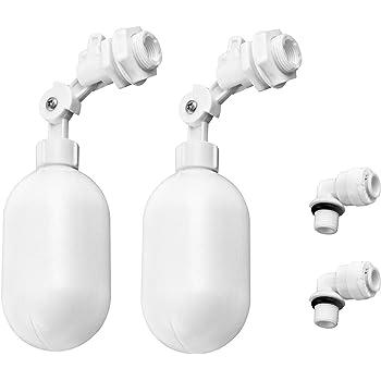 LOVIVER Bola de Agua de Acero Inoxidable V/álvula Flotador para Tanque de Agua DN15 4 Pulgada