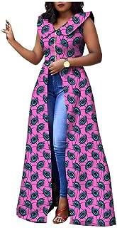 Women's African Dress for Party wear Split Ball Gown
