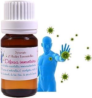 Synergie - Mélange D' Huiles Essentielles pour Diffusion Défenses Immunitaires (10ml)
