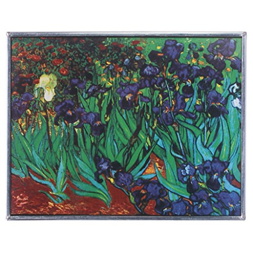 Buntglas-Panel - Van Gogh Iris Buntglas-Fenster Behang - Fensterbehandlungen