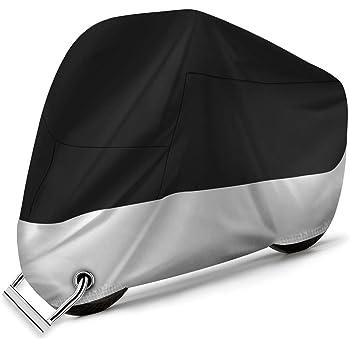 /à la Poussi/ère//Neige//Pluie UV au Vent 265 * 105 * 125cm Favoto Housse de Protection Impermeable pour Moto Scooter Couverture Ext/érieur 210D R/ésistant aux d/éjections doiseaux XXXL Am/élior/ée
