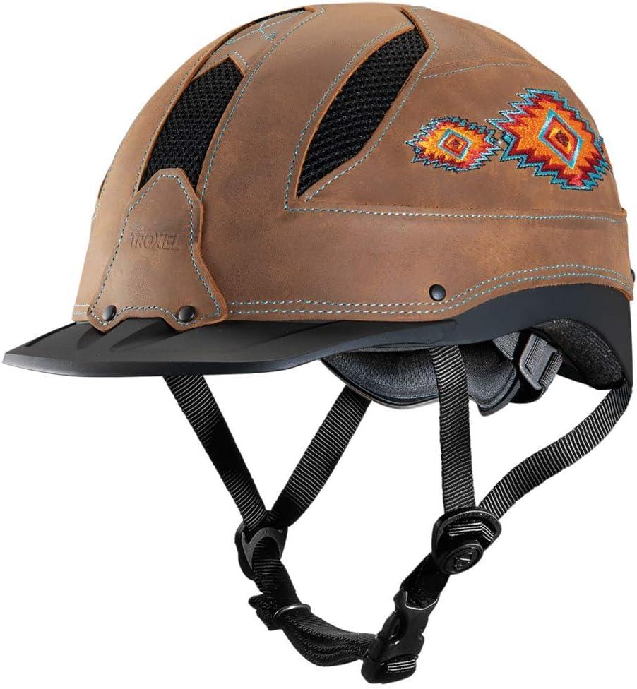 Troxel Cheyenne Southwest Horse Riding Low Dedication Helmet Excellent Western Profil