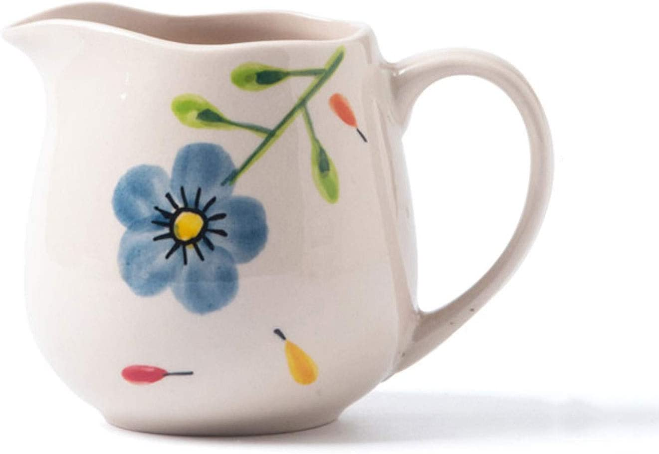 Creamer Pitcher Nordic Hand-painted Pattern Pointed Milk Jug Cre
