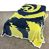 College Covers Michigan Wolverines Super Soft Sherpa Blanket, 63' x 86'