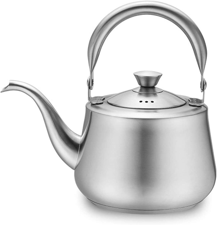 Stainless Steel Whistling Fashionable Tea Kettle Handle Stovetop Trust Ergonomic