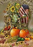 Toland Home Garden 1012211 Autumn Chair 28 x 40 Inch Decorative, House Flag (28' x 40')