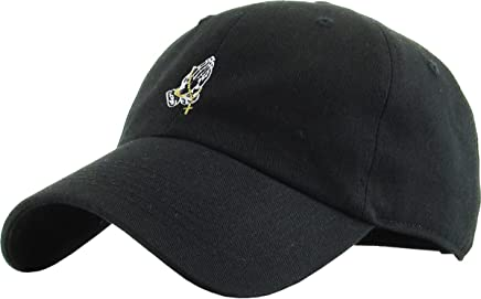 2978578e KBETHOS Praying Hands Rosary Savage Dad Hat Baseball Cap Unconstructed Polo  Style Adjustable