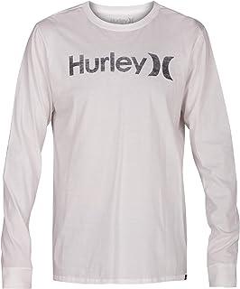 Hurley Men's One & Only Push Thru Graphic Long Sleeve Tee Shirt