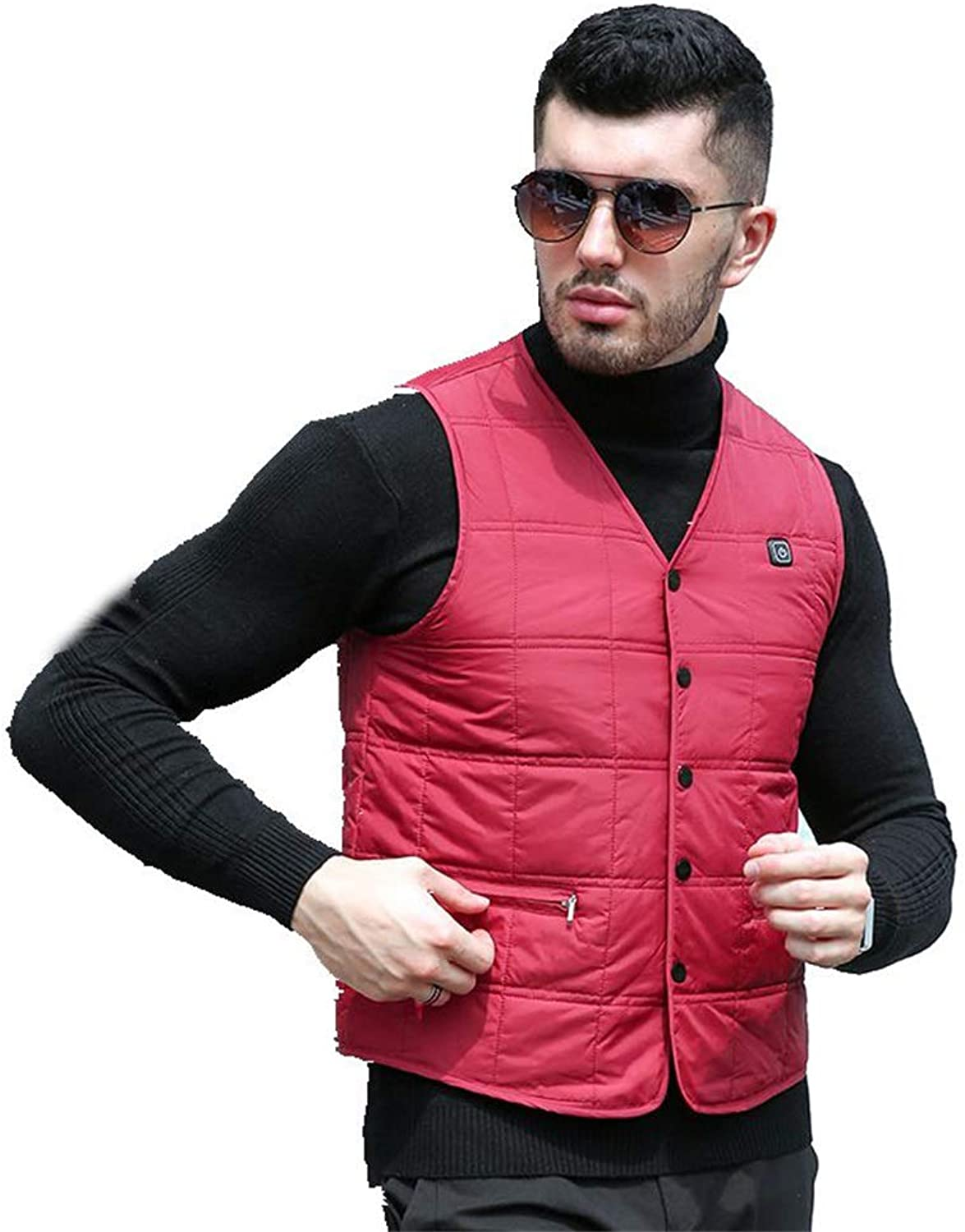 LiangG Heated Vest, USB Electric Heated Adjustable Temperature for Use Men Women