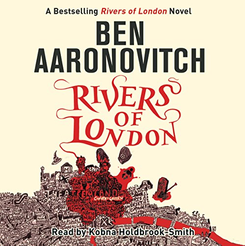 Rivers of London audiobook cover art