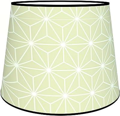 Abat-jours 7111309790684 Conique Clara Lampadaire, Tissus/PVC, Multicolore