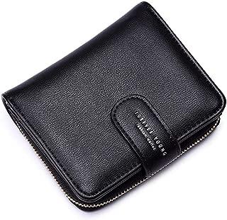 Wallets for Women, Women Small Wallet Lady Short Wallet Bifold Leather Multi-purpose Wallet with ID Window