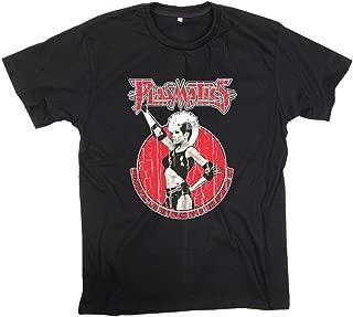 Finewear Free Ship Unisex Plasmatics Coup d'Etat Punk Rock Skinhead Glam Noise Nice Black Tee Shirts (XL)