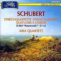 Quartetto per archi n.8 D 112 op 168 (1814) Quartetto per archi n.13 D 804 op 29 n.1 'Rosamund
