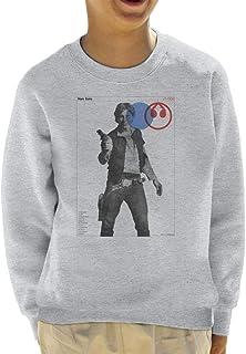 Star Wars Han Solo YT 1300 Millennium Falcon Kid's Sweatshirt
