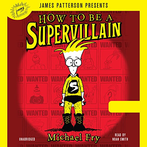 How to Be a Supervillain audiobook cover art
