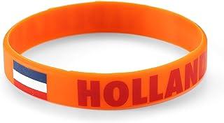 Komonee Serre-Poignets en Silicone des Pays-Bas Orange World Cup Olympics (Pack de 1)