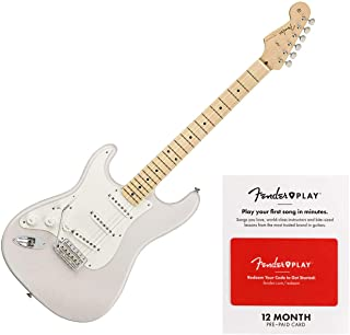 Fender American Original '50s Stratocaster Left-Handed Electric Guitar White Blonde