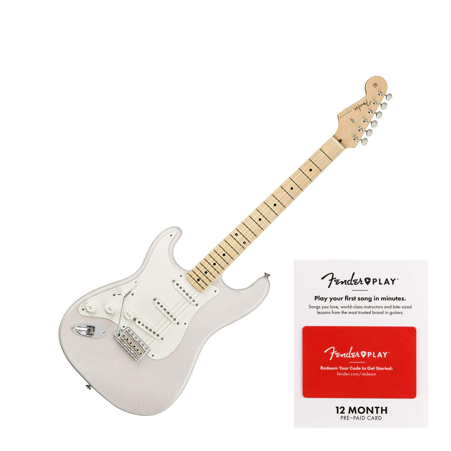 Cheap Fender American Original 50s Stratocaster Left-Handed Electric Guitar White Blonde Black Friday & Cyber Monday 2019