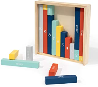ROBUD Cuisenaire Rods Individual Kit, Montessori Math Learning Tools, Math Manipulatives for Kids