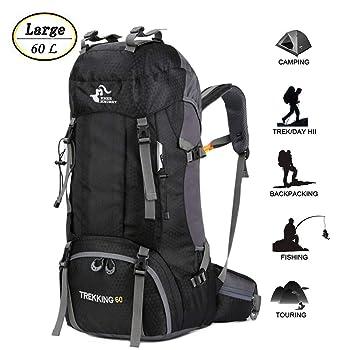Bseash 60L Waterproof Travel Backpack