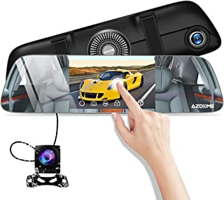"""Car DVR with G-Sensor Motion Detection Loop Recording Parking Mode 4.3/""""140/° Wide View 4350447529 DohonesBest Dash Cam Dual Lens Rear View Mirror Car Backup Camera Front and Rear 1080P Full HD Video Recorder"""