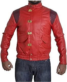 Akira Kaneda Capsule Red Movie Leather Jacket