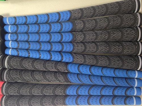 Neue 13 Stück, Blau und Schwarz Multi Compound Golfschläger-Griffe, Anleitung