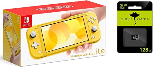 "$294 » Newest Nintendo Switch Lite Game Console, 5.5"" LCD Touchscreen Display, Built-in Plus Control Pad, W/Hesvap 128GB Micro SD..."