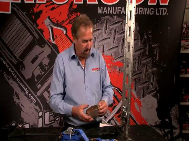 Erickson 59151 2-Inch x 10-Inch 2000 pounds Load Capacity Cam Lock E-Track Strap